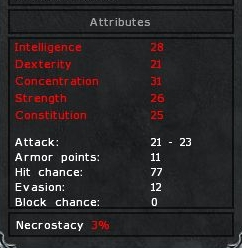 Attributes Under Necrostacy