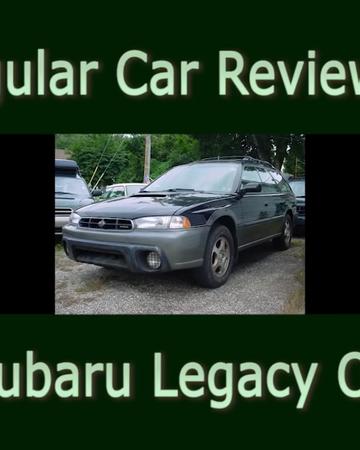 1998 subaru legacy outback regular car reviews wiki fandom regular car reviews wiki fandom