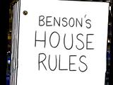 Libro de reglas de Benson