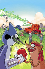 Regular Show Comic - Clash of Consoles OGN