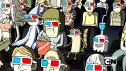 Mordecai, Musculoso, Rigby y Fantasmin en el cine-Mi mami