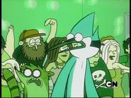 Mordecai y Rigby-Beto Bullicio