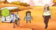 Mordecai,Rigby,Musculoso y John-Mi Mami