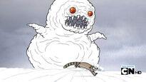Bola nieve, el monstruo de hielo