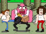 Monstruo Rosa Gigante