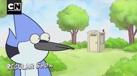Portable Toilet - Regular Show - Cartoon Network