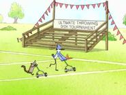 Rigby y Mordecai-Trabajador temporal