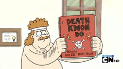 Death Kwon Do Note book