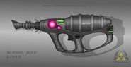 Fictional firearm hc r900x alive raygun by czechbiohazard-d6evkcr