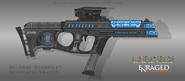 Fictional firearm hc ee45 firefly plasma smg by czechbiohazard-d6kuvgc