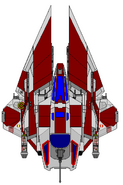 Republic dropfighter m wing by kavinveldar