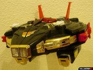 Deluxe Astro Galactic Megazord- Megaship Mode posed 2