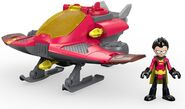 Fisher-Price-Imaginext-Teen-Titans-Go-Robin-Jet-Action-Figure