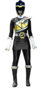 Dino charge black ranger female by dishdude87-d9h08a0