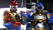 Kamen Rider Fighter and Kamen Rider Puzzle