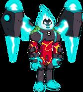 Enhanced Heatblast Art