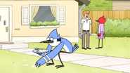 S6E20.251 Mordecai Picking Up the Cake