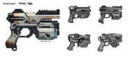 Fa alien pistol by chrislazzer-d6mqa58