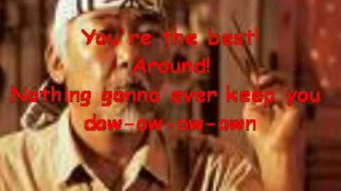 Joe Esposito - You're the best around (lyrics)