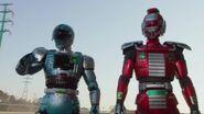 Gokai Change Draftredder & Jiban
