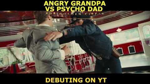 Angry Grandpa Vs Psycho Dad- The Golden Circle -TV Spot - Happy Birthday Fuzzy Fox-