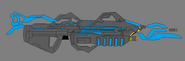 Forerunner rifle concept by haloidfan-d4m91fb