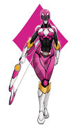 Pink power ranger by comicartist88-db5758i