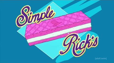 Rick and Morty Season 3 Simple Rick's Wafers
