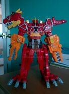 Dino charge megazord deinosuchus formation by sentaifive-d9j5gsb