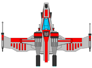 Republic star fighter by jedimsieer