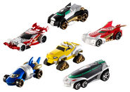 Y0749 hot wheels power rangers character car assortment xxx