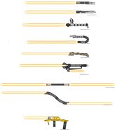 Ligthsaber collection by robbe25