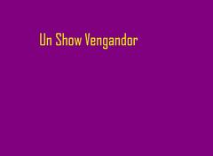 Avenger show