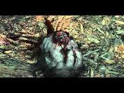 Zombie matado con ballesta