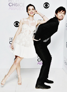 Delaide Kane n Torrance Coombs - People's Choice Award