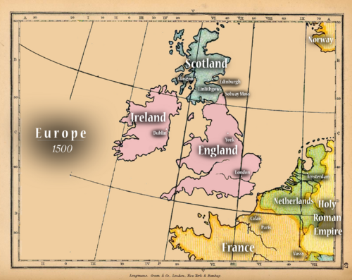 Europe - Old Map3