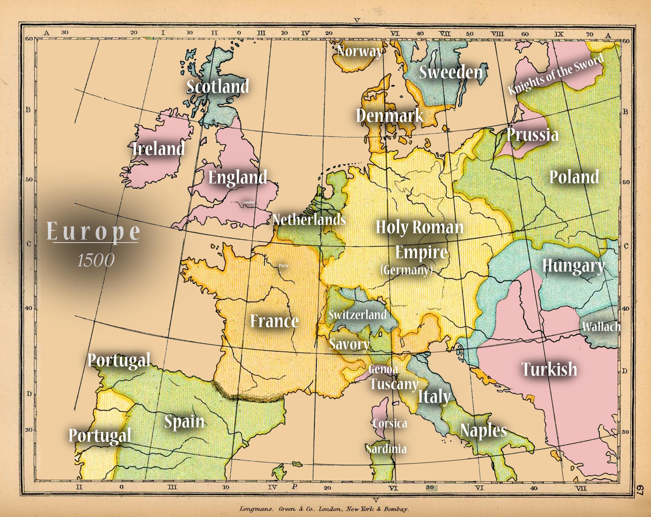 Map Of England Henry Viii.Europe Reign Wiki Fandom