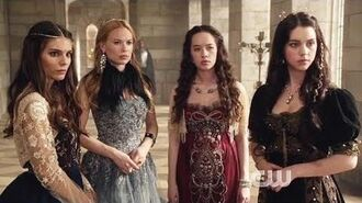 Reign ~ Mary and her Ladies Mary, Lola, Greer, Kenna, Aylee