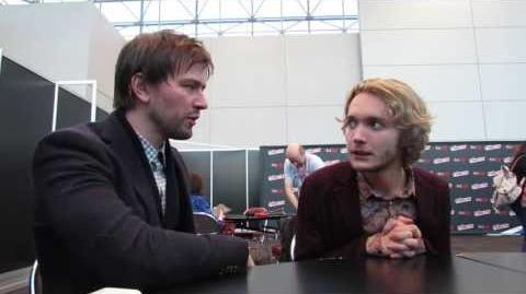 NYCC 2013 - Reign - Torrance Coombs and Toby Regbo-0