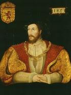 King James V Painting I