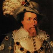 King James V Painting