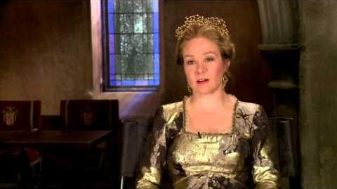 Reign The Complete First Season - Megan Follows On Bash and Kenna-0
