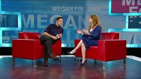 Megan Follows on George Stroumboulopoulos Tonight INTERVIEW