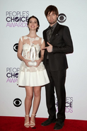 Delaide Kane n Torrance Coombs - People's Choice Award II