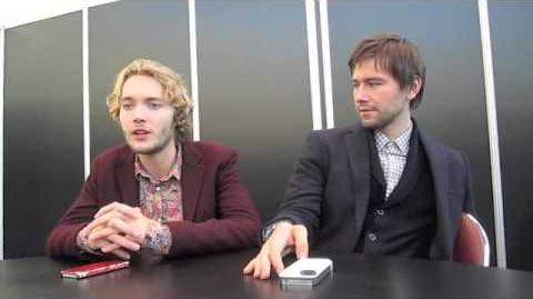Reign's Toby Regbo & Torrance Coombs at NYCC 2013