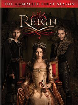 Reign S1 DVD Cover