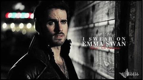 I swear on emma swan hook & emma 3x17