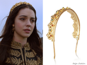 Eugenia Kim Goldtone Crown Headband