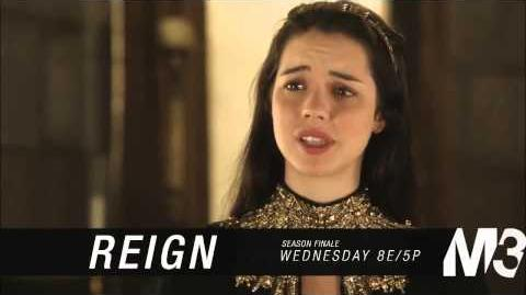 """Reign 1x22 Canadian Promo HD) """"Slaughter of Innocence"""" (SEASON FINALE)"""
