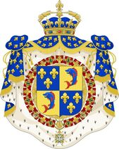 Coat of Arms of the Dauphin of France.